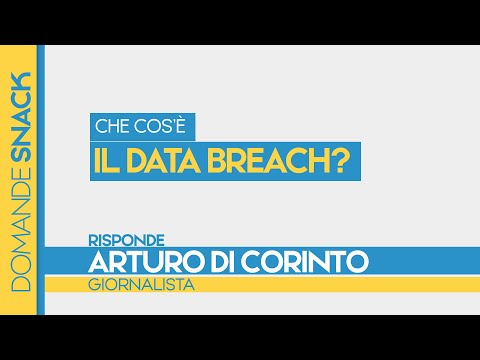 Che cos'è il Data breach?