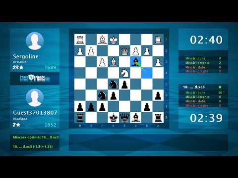 Chess Game Analysis: Sergoline - Guest37013807 : 0-1 (By ChessFriends.com)