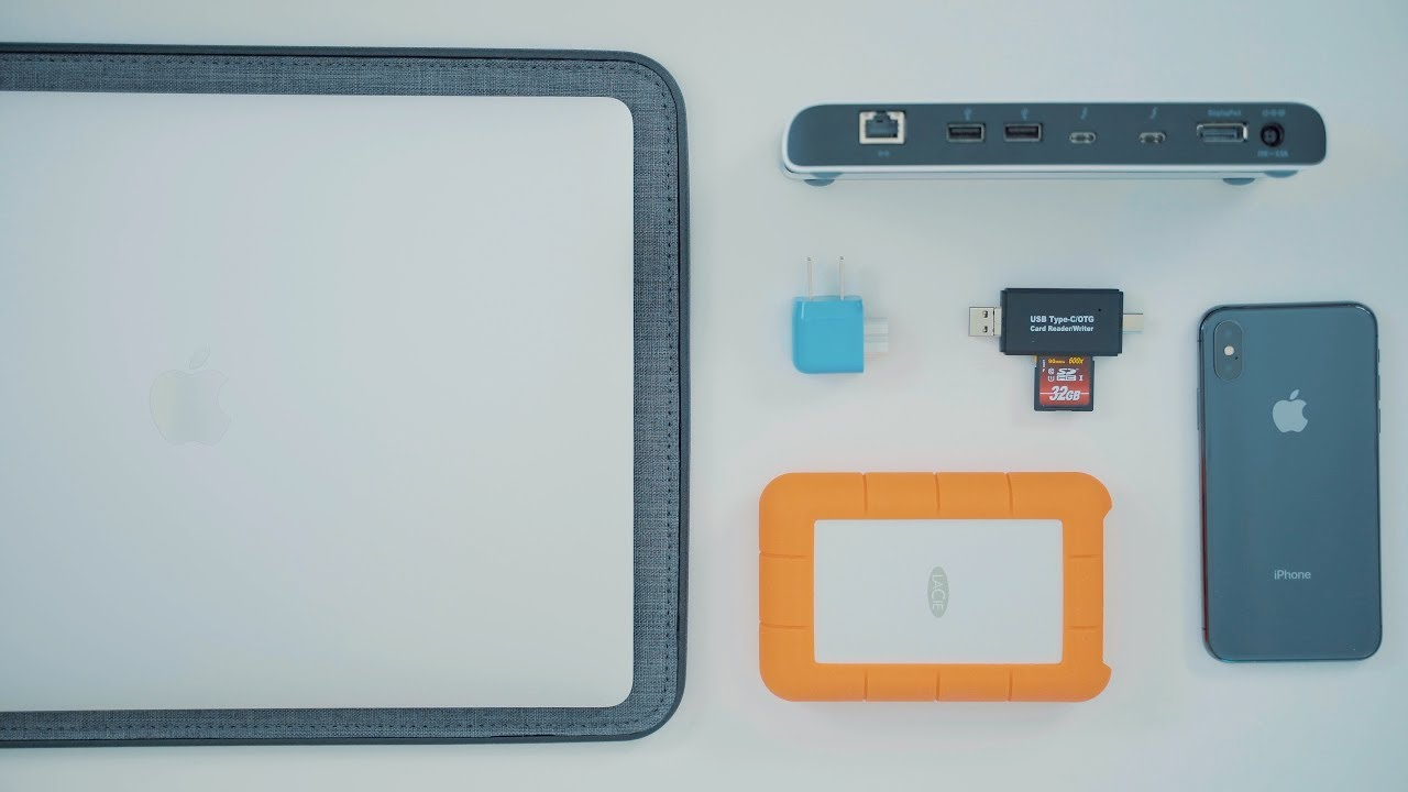 Useful Accessories for the 2018 MacBook Pro