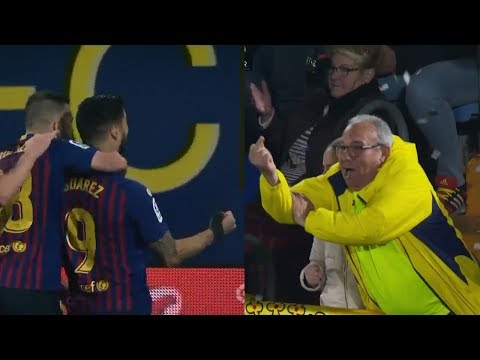 Luis Suarez Crazy Last Minute Goal│Villarreal Vs Barcelona 4-4 with Ray Hudson Commentary│ 2019 HD