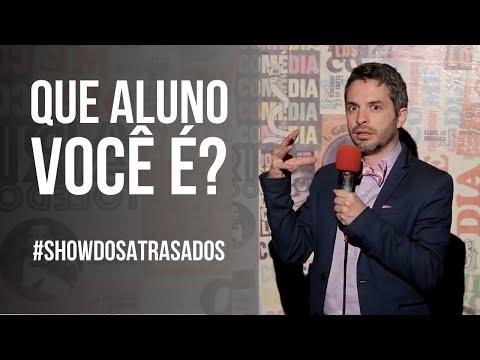 ATRASADOS DO ENEM E TIPOS DE ALUNO | Bruno Motta - Comédia Stand Up #ShowDosAtrasados