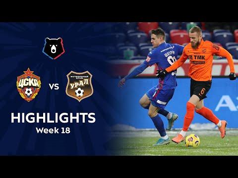 CSKA Moscow Ural Goals And Highlights