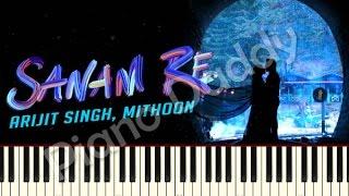 Sanam Re (Title Song) - Arijit Singh Piano Tutorial ~ Piano Daddy
