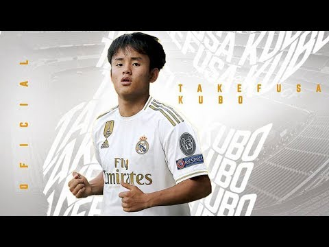 Takefusa KUBO ● Welcome Back to Barcelona 2019 ● 久保 建英