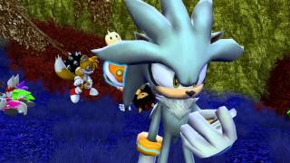 Shadow And Silver Watch Sonic Jump