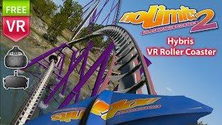 Hybris VR Roller Coaster - noLimits 2 Roller Coaster Simulation -  Full HD 1080 60fps video