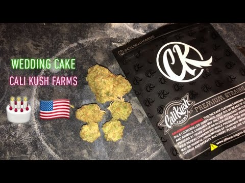 Wedding Cake by Cali Kush Farms (Strain Review #17) (Cali
