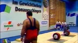 Тяжелая атлетика - Дандик Юрий.рывок - ЧМ 1991