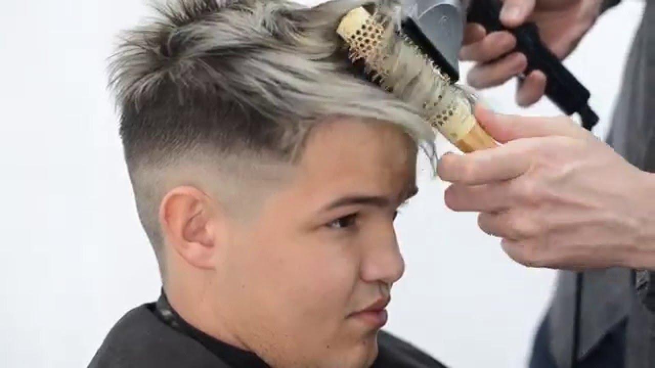 Mechas hombre pelo corto