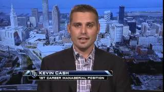 Kevin Cash on the MLB Network talks about joining Rays as manager.
