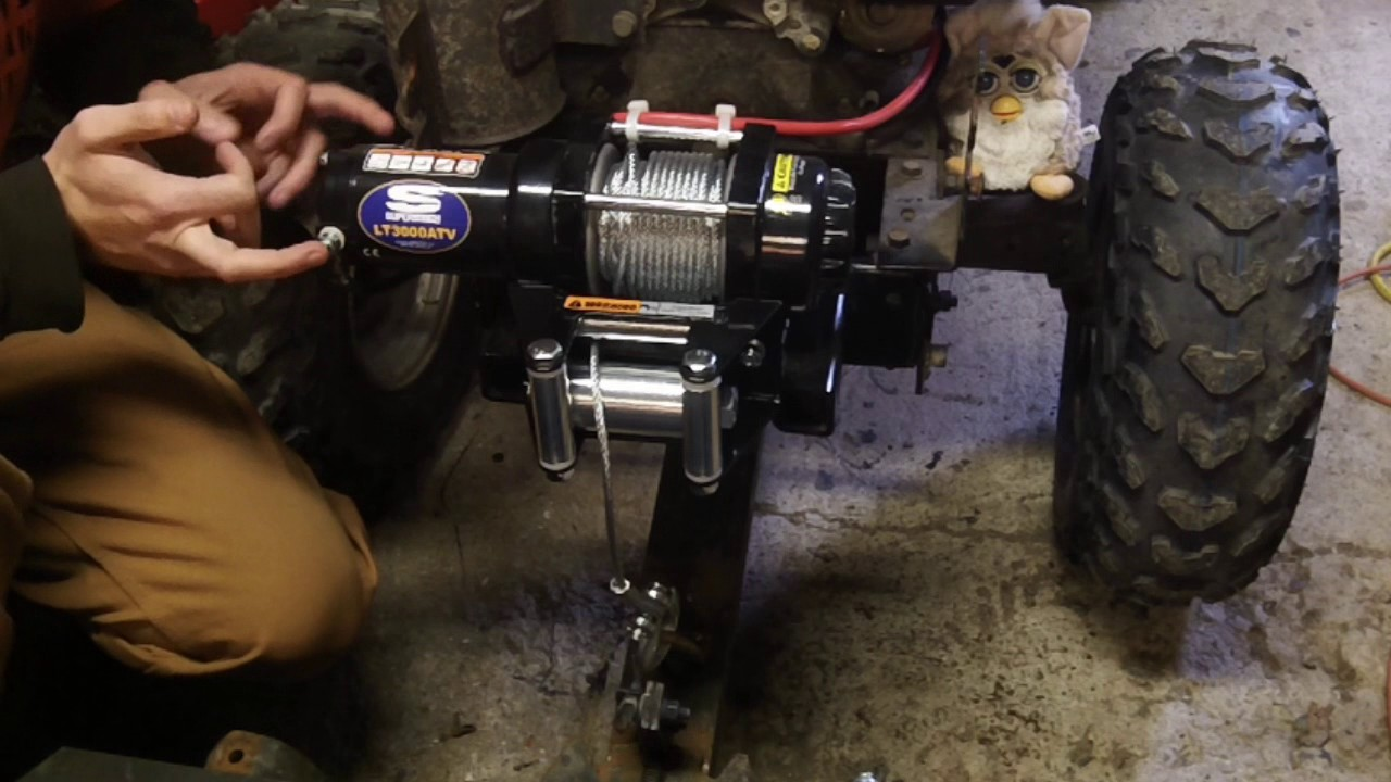 hight resolution of superwinch lt3000atv install and how to youtubesuperwinch lt3000atv install and how to