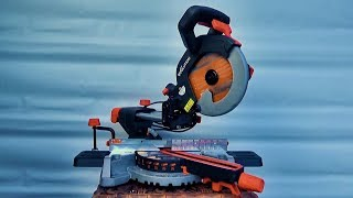 Evolution's New R210SMS Sliding Mitre Saw Unboxing and Assembly