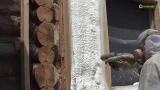 Бревенчатый дом в Москве. Утепление фасада.(Чаще всего человек оказывается перед выбором наружного или внутреннего утепления, но, забегая вперед, може..., 2014-07-10T08:31:32.000Z)