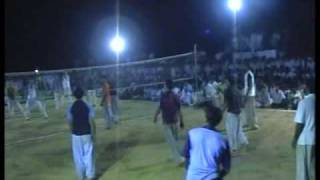 SHOOTING VOLLEY BALL SHOW MATCH , LANGRIAL, GUJRAT, PAKISTAN