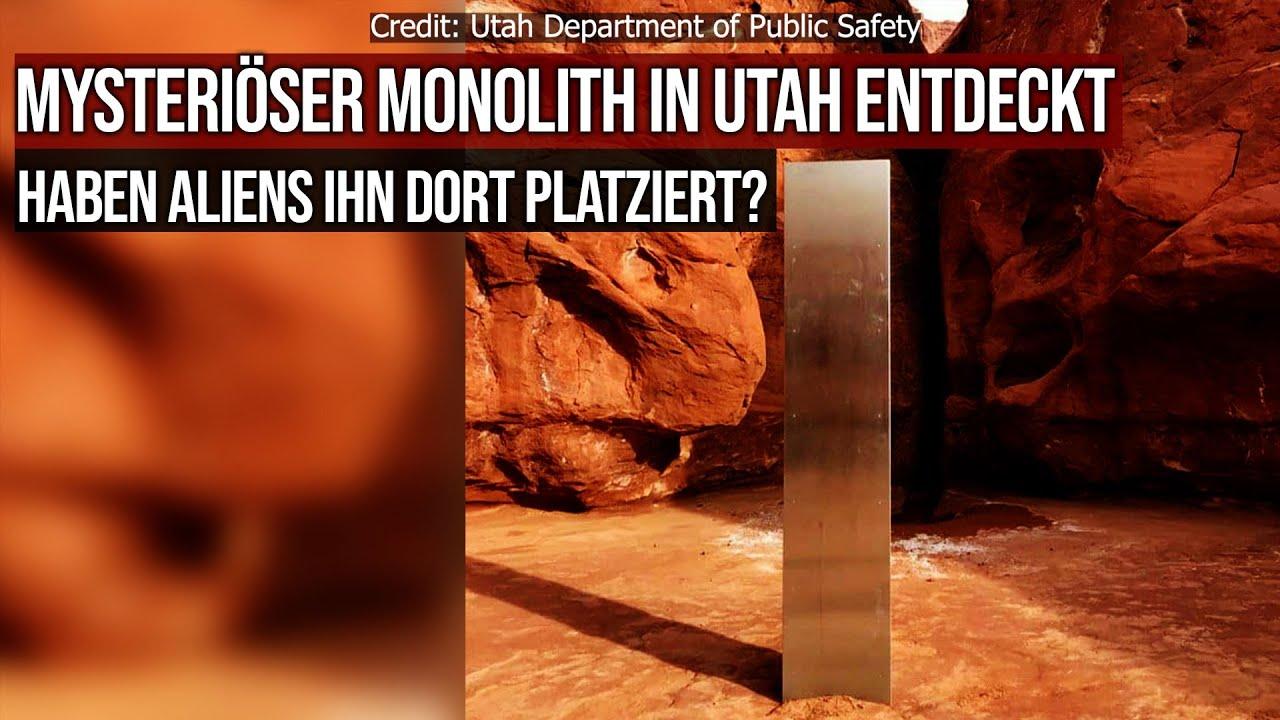 Mysteriöser Monolith in Utah entdeckt - Aliens involviert?