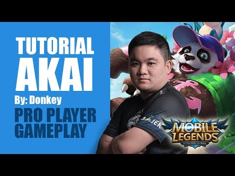 Tutorial Akai Terbaru Donkey Suku Bar Bar | Pro Player Gameplay | Mobile Legends