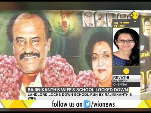 School run by Rajinikanth's wife locked over non-payment of rent