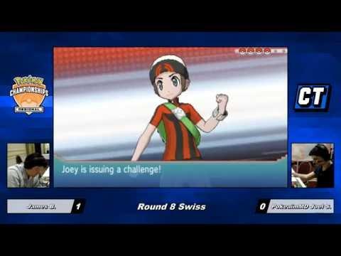 Pokemon VGC 2016 MA Regionals - James B. vs Joel S. PokeaimMD - Round 8