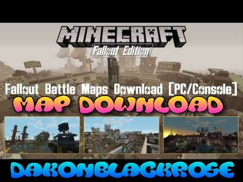 Minecraft Xbox One Fallout Battle Maps WDownload Atomics - Minecraft us capitol map