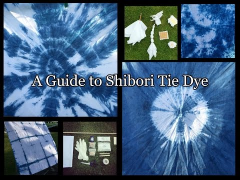 How to Tie Dye at home - indigo