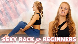 Barre & Pilates Exercises for a Strong, Sexy Back! The Banks Method, 10 Min Workout, At Home Fitness