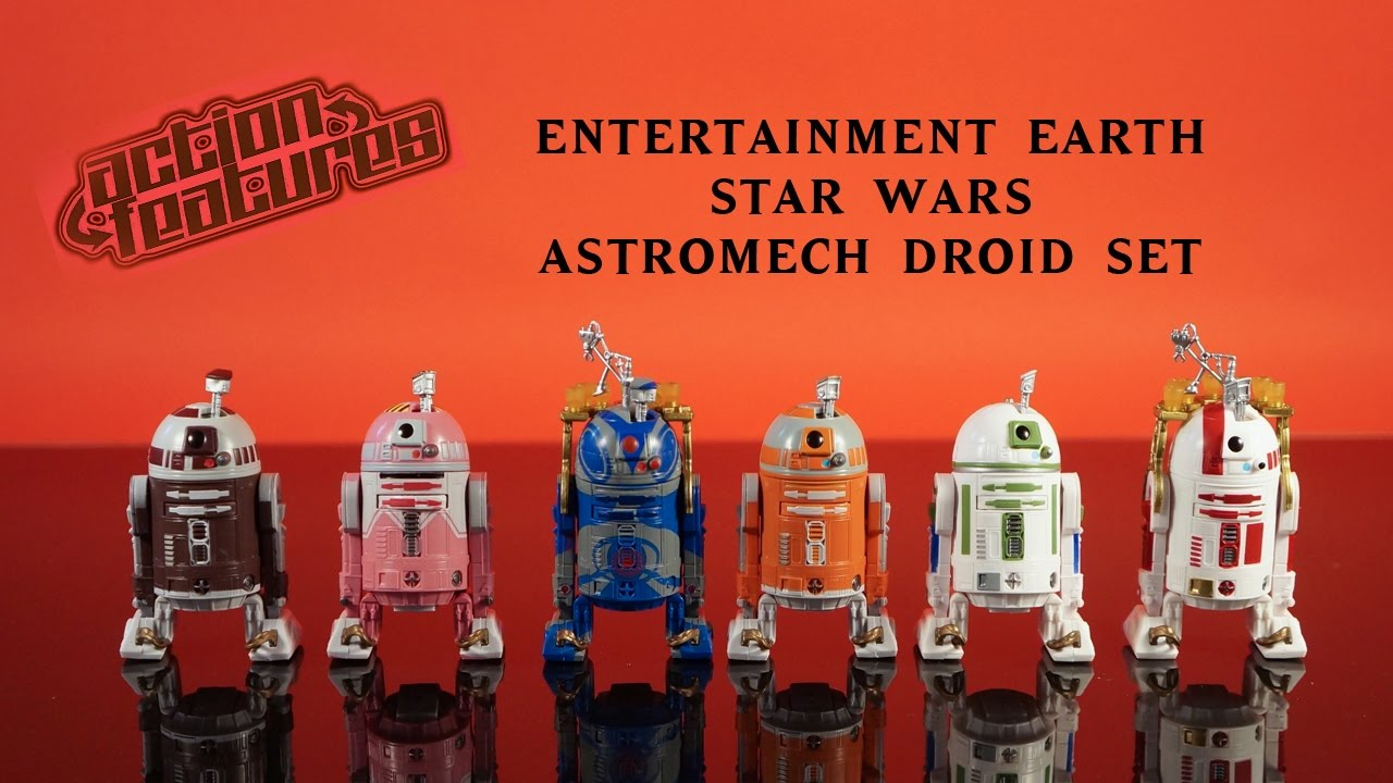 Hasbro Star Wars Astromech Droid Pack Entertainment Earth Exclusive 2016