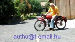 Moto Guzzi Cardellino Sport.wmv