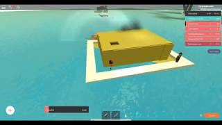 tall boats roblox make your own boat (not sponsered) lol