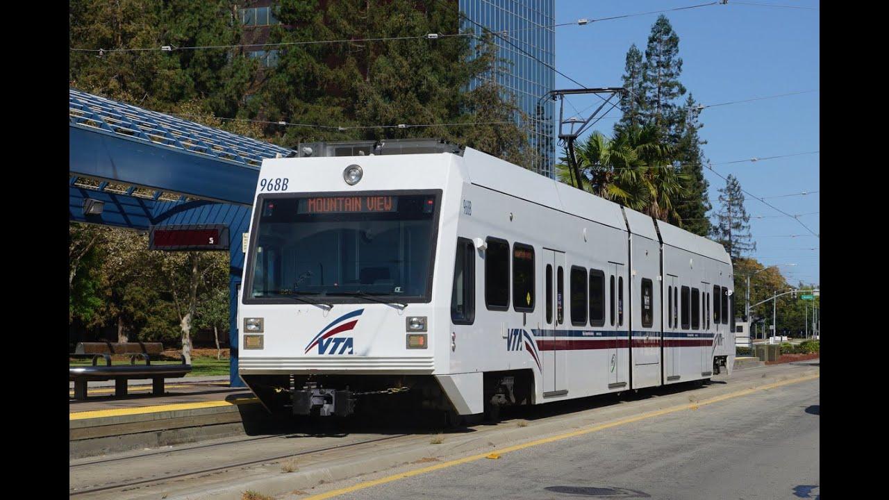 San Jose (California)   Light Rail Transit System Photo Gallery