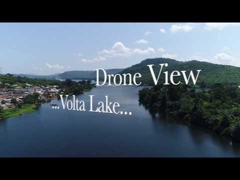 Drone View - Volta Lake
