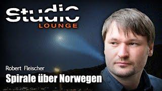 Spirale über Norwegen - nur ein russischer Raketentest?