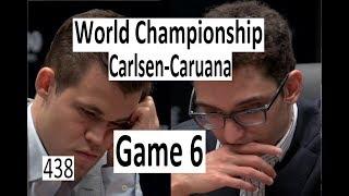 Carlsen-Caruana ¦ Game 6 ¦ 'Mate in 36!'