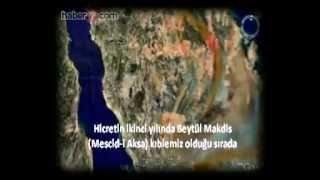 1400 yıllık kıble tayinini uydular da doğruladı