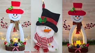 Manualidades Navideñas muy Económicas 2020 - Decoração de Natal Com Material Reciclado - #Navidad
