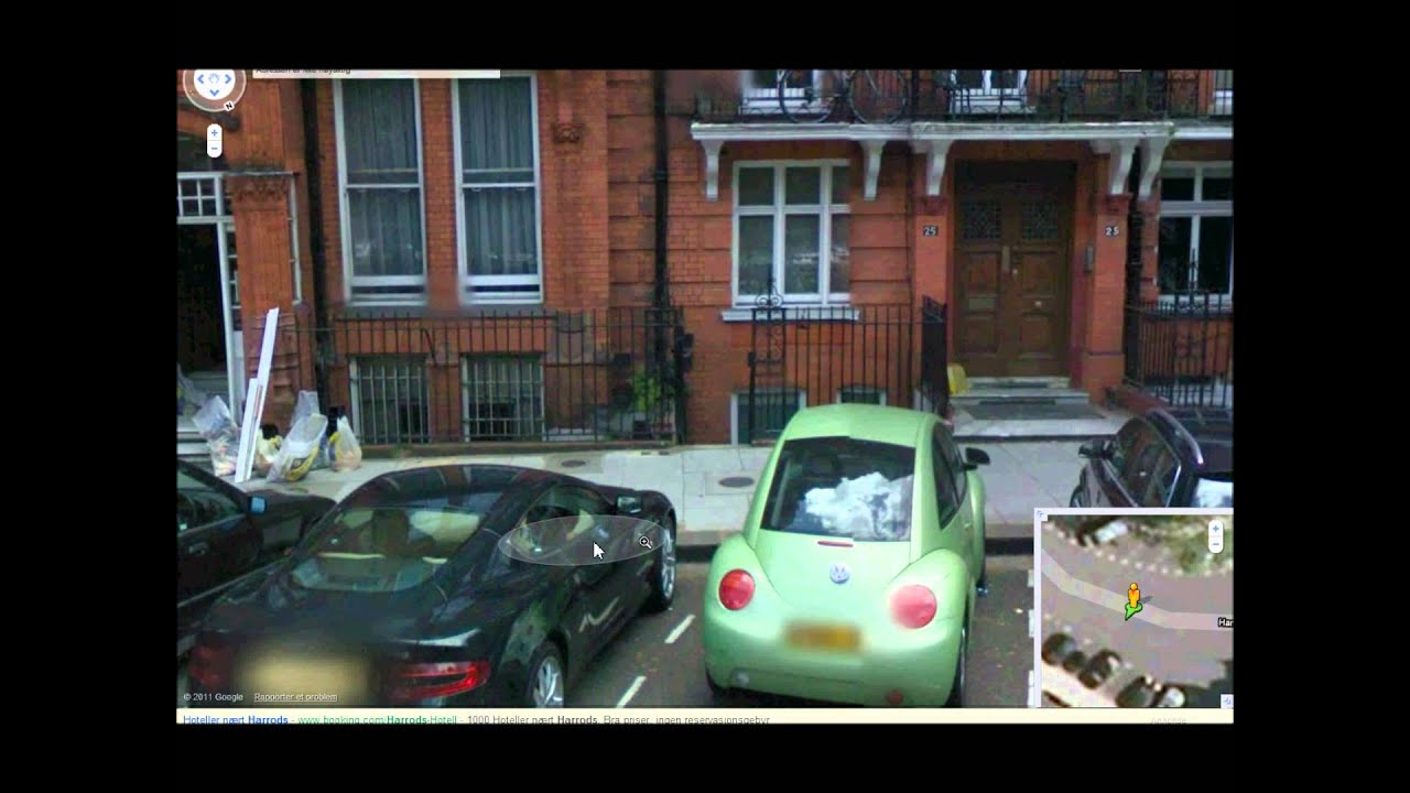Supercars In Google Maps Street View Part Youtube