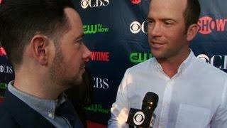 Fall Previews  - CBS Press Tour Red Carpet:  Lucas Black