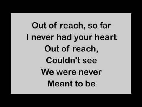 Gabrielle - Out Of Reach (lyrics)