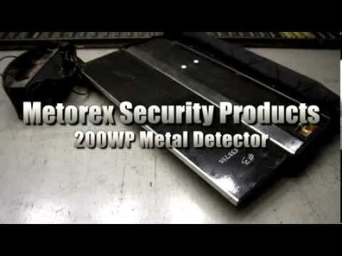 metorex security products rapiscan system metal detector on rh youtube com Bounty Metal Detectors Bounty Metal Detectors