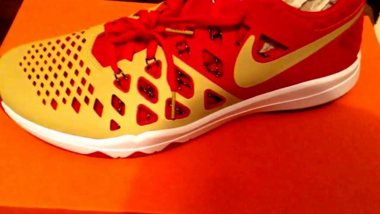 bd8ed884 Nike Train Speed 4 AMP NFL Sneaker Review (San Francisco 49ers Edition)