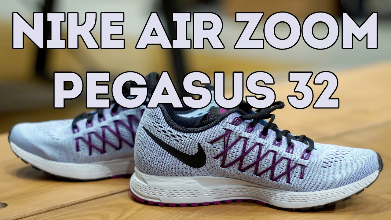 ca20082797c72 Nike Air Zoom Pegasus 32 Running Shoe Review - YouTube