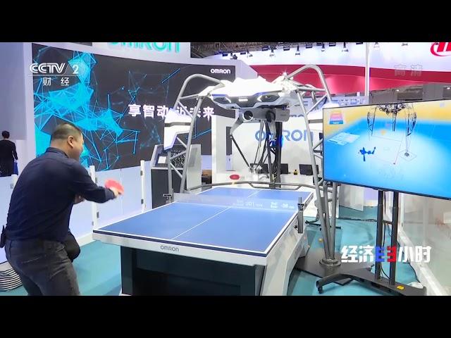 [经济半小时]全球首台乒乓球教练机器人 被载入吉尼斯世界纪录| CCTV财经
