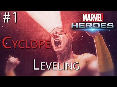 Leveling avec Cyclope : Bouffon Vert et X-Defense  #1 - Marvel Heroes [FR]