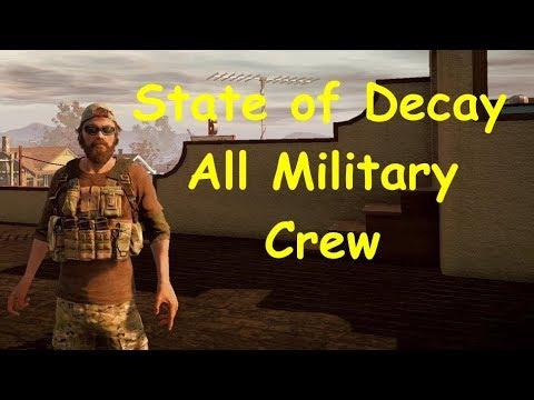 State of Decay YOSE Breakdown - All Military Crew Ep02 - McReady FarmHouse