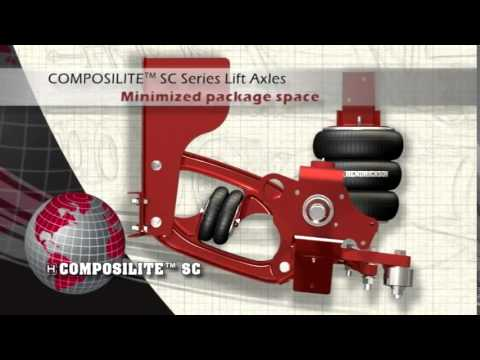 COMPOSILITE® SC - Lift Axle from Hendrickson