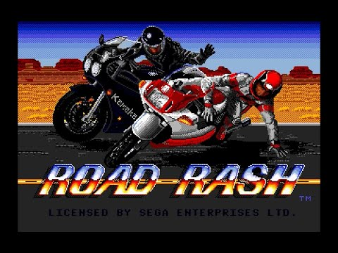 Mega Drive Longplay [247] Road Rash