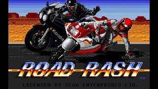 Mega Drive Longplay [247] Road Rash