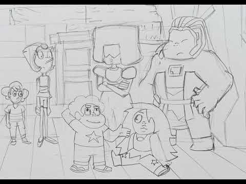 Steven Universe SE5 EP-25 Part 1 Storyboard Practice