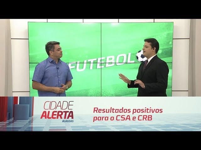 Futebol: resultados positivos para o CSA e CRB