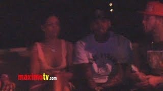Rihanna and Chris Brown TOGETHER AGAIN October 20, 2012 - EXCLUSIVE VIDEO