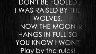 Falling in Reverse - Raised by Wolves (+lyrics)